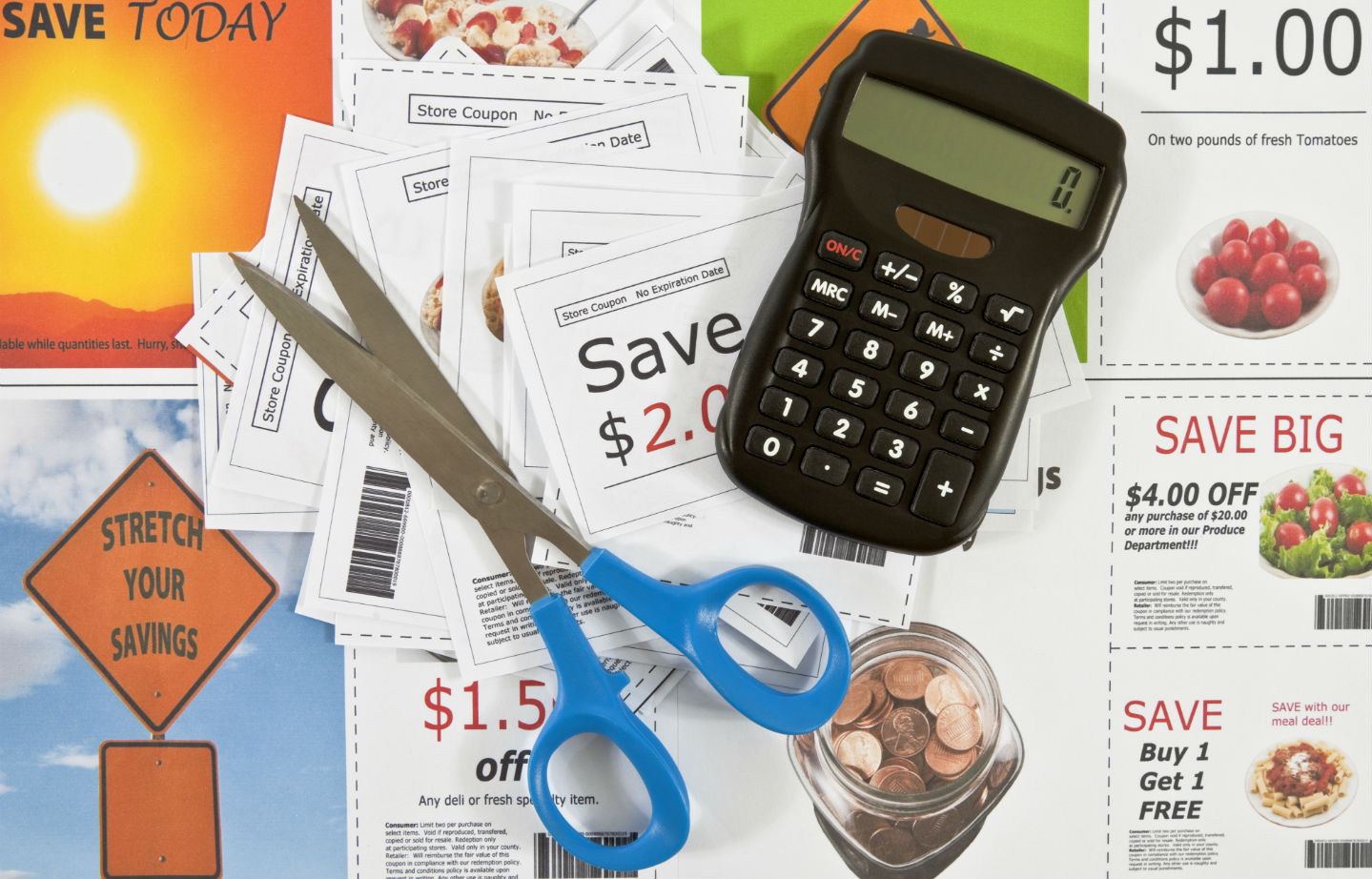 Supermarket Coupons Main Shutterstock